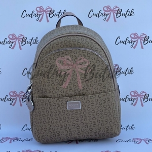 Guess Backpack Simmons Brown