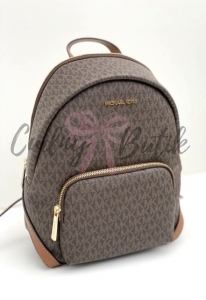 Michael Kors Erin Medium Backpack Brown Plecak